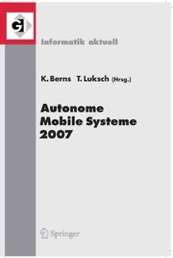 Berns, Karsten - Autonome Mobile Systeme 2007, ebook