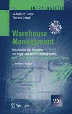 Hompel, Michael - Warehouse Management, e-kirja