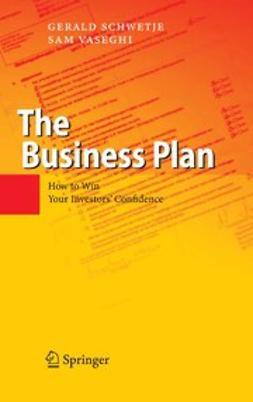 Schwetje, Gerald - The Business Plan, ebook