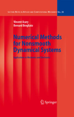 Acary, Vincent - Numerical Methods for Nonsmooth Dynamical Systems, e-bok