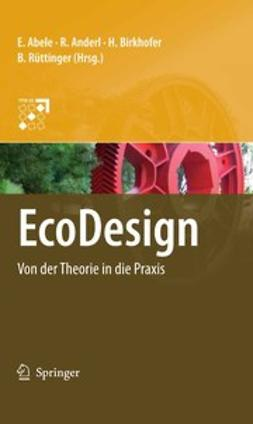 Abele, Eberhard - EcoDesign, ebook