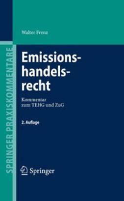 Frenz, Walter - Emissionshandelsrecht, ebook