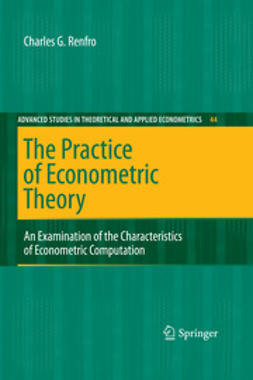 Renfro, Charles G. - The Practice of Econometric Theory, ebook