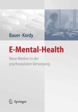 Bauer, Stephanie - E-Mental-Health, e-kirja