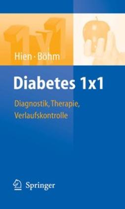 Böhm, Bernhard O. - Diabetes 1×1, ebook