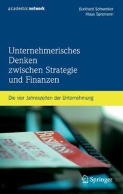 Schwenker, Burkhard - Unternehmerisches Denken zwischen Strategie und Finanzen, e-bok