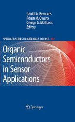 Bernards, Daniel A. - Organic Semiconductors in Sensor Applications, ebook