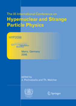 Pochodzalla, Josef - Proceedings of The IX International Conference on Hypernuclear and Strange Particle Physics, ebook