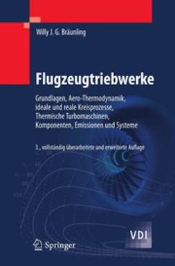 Bräunling, Willy J.G. - Flugzeugtriebwerke, ebook