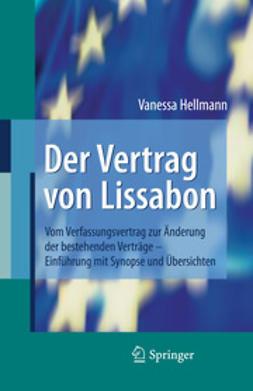 Hellmann, Vanessa - Der Vertrag von Lissabon, ebook