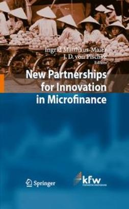 Matthäus-Maier, Ingrid - New Partnerships for Innovation in Microfinance, ebook
