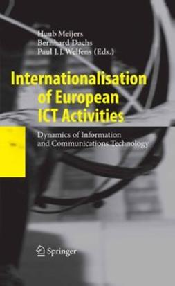Dachs, Bernhard - Internationalisation of European ICT Activities, ebook