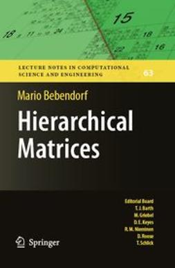 Bebendorf, Mario - Hierarchical Matrices, ebook