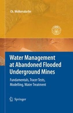 Wolkersdorfer, Christian - Water Management at Abandoned Flooded Underground Mines, ebook