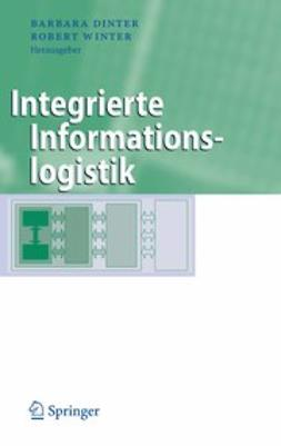 Dinter, Barbara - Integrierte Informationslogistik, ebook