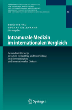 Hillenkamp, Thomas - Intramurale Medizin im internationalen Vergleich, ebook
