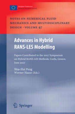 Peng, Shia-Hui - Advances in Hybrid RANS-LES Modelling, ebook
