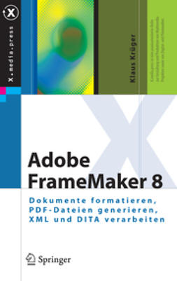 Krüger, Klaus - Adobe FrameMaker 8, ebook