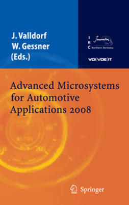 Gessner, Wolfgang - Advanced Microsystems for Automotive Applications 2008, e-kirja