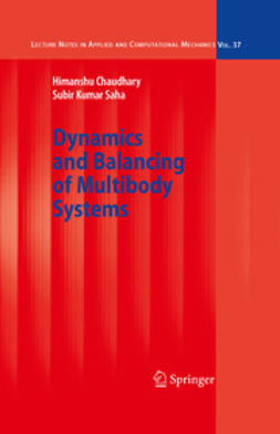 Chaudhary, Himanshu - Dynamics and Balancing of Multibody Systems, ebook