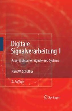 Schüßler, Hans W. - Digitale Signalverarbeitung 1, e-kirja