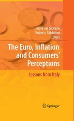 Giovane, Paolo - The Euro, Inflation and Consumer's Perceptions, ebook