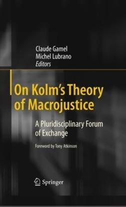 Gamel, Claude - On Kolm's Theory of Macrojustice, e-kirja
