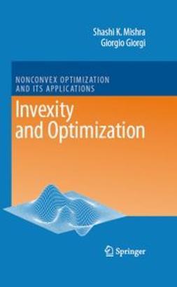 Giorgi, Giorgio - Invexity and Optimization, ebook