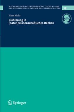 Mohr, Hans - Einführung in (natur-)wissenschaftliches Denken, ebook
