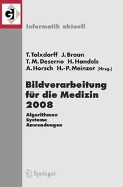 Braun, Jürgen - Bildverarbeitung für die Medizin 2008, ebook