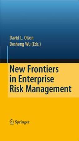 Olson, David L. - New Frontiers in Enterprise Risk Management, ebook