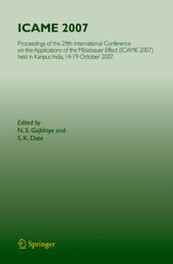 Gajbhiye, N. S. - ICAME 2007, ebook