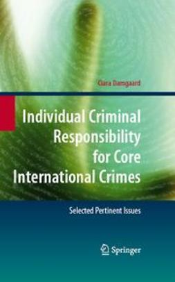 Damgaard, Ciara - Individual Criminal Responsibility for Core International Crimes, e-bok