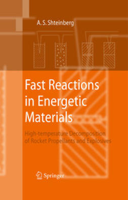 Shteinberg, Alexander S. - Fast Reactions in Energetic Materials, ebook