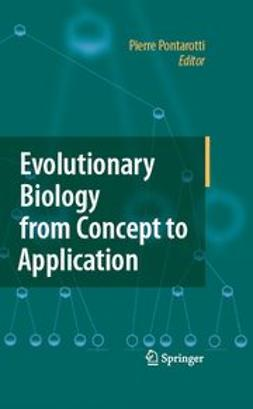 Pontarotti, Pierre - Evolutionary Biology from Concept to Application, e-bok