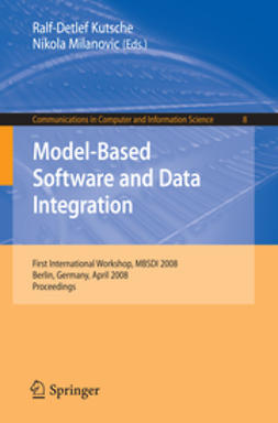 Kutsche, Ralf-Detlef - Model-Based Software and Data Integration, ebook