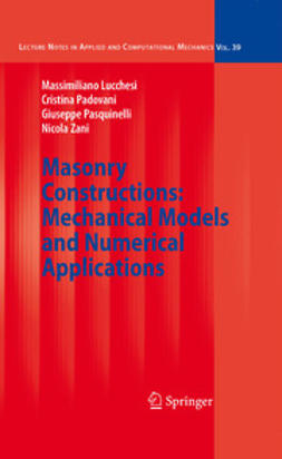 Masonry Constructions: Mechanical Models and Numerical Applications