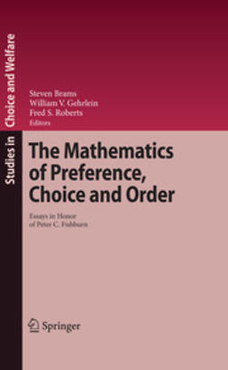 Brams, Steven J. - The Mathematics of Preference, Choice and Order, e-kirja