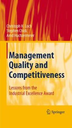 Chick, Stephen E. - Management Quality and Competitiveness, e-kirja