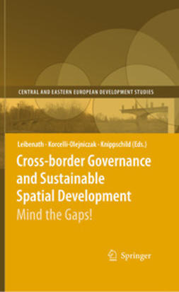 Knippschild, Robert - Cross-border Governance and Sustainable Spatial Development, e-bok