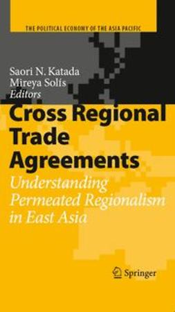 Katada, Saori N. - Cross Regional Trade Agreements, ebook