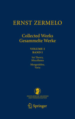 Ebbinghaus, Heinz-Dieter - Ernst Zermelo - Collected Works/Gesammelte Werke, ebook