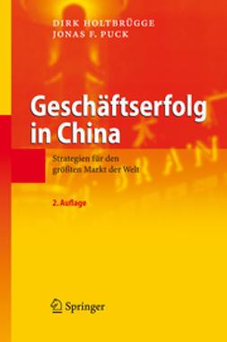 Holtbrügge, Dirk - Geschäftserfolg in China, ebook