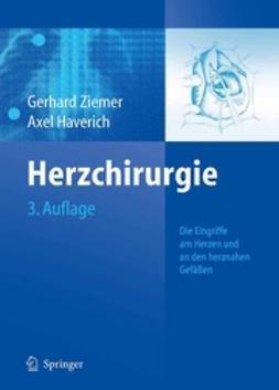 Ziemer, Gerhard - Herzchirurgie, ebook