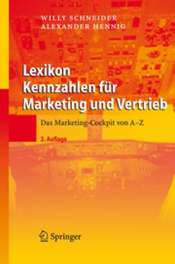 Hennig, Alexander - Lexikon Kennzahlen für Marketing und Vertrieb, ebook