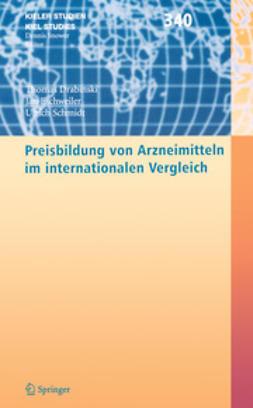 Drabinski, Thomas - Preisbildung von Arzneimitteln im internationalen Vergleich, ebook