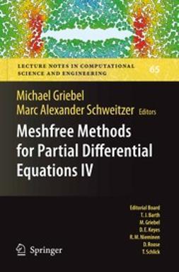 Griebel, Michael - Meshfree Methods for Partial Differential Equations IV, e-bok