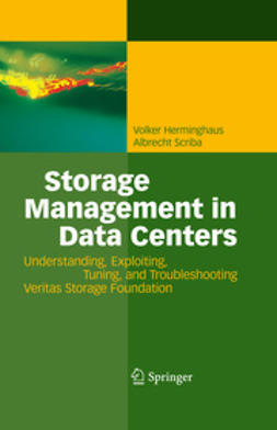 Scriba, Albrecht - Storage Management in Data Centers, ebook