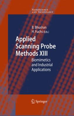 Bhushan, Bharat - Applied Scanning Probe Methods XIII, e-bok