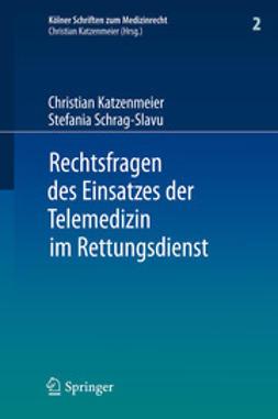 Katzenmeier, Christian - Rechtsfragen des Einsatzes der Telemedizin im Rettungsdienst, ebook